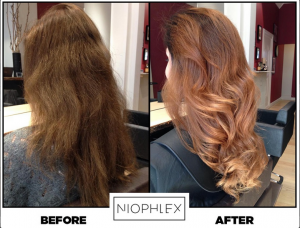 hair colour transformation, Niophlex