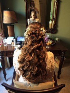 WEDDING HAIR, Oxfordshire hair salon