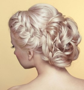 Wedding hair updo, hair & beauty salons in Wantage, Marlborough and Didcot