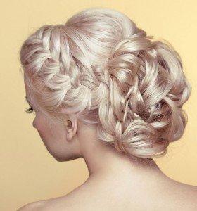 Wedding hair updo, hair & beauty salons in Wantage, Marlborough and Didcot