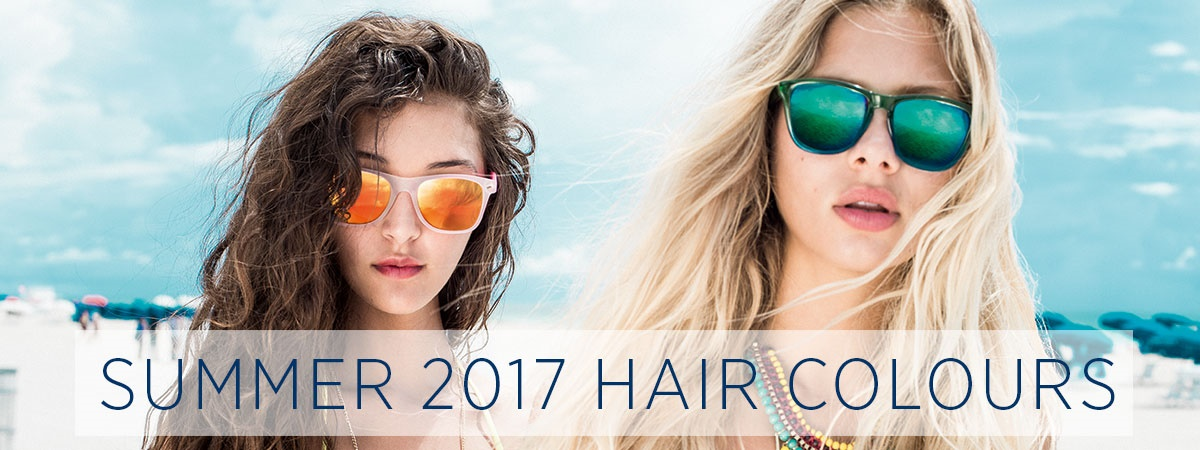 Hot Hair Colours for Summer