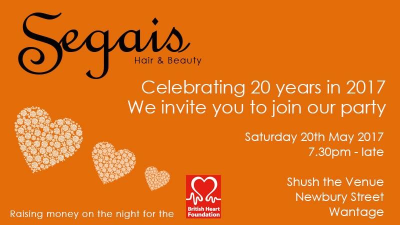 Segais celebrates 20 years