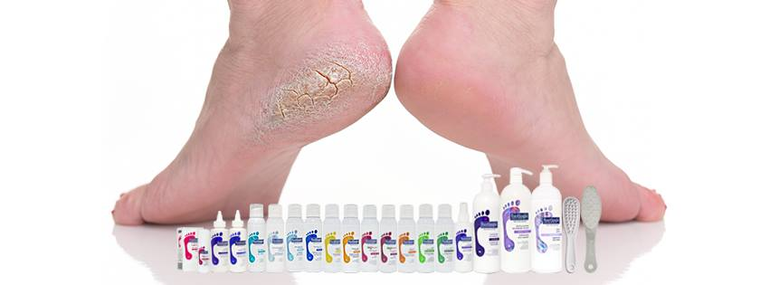Foot care with Footlogix at Oxfordshire beauty salons