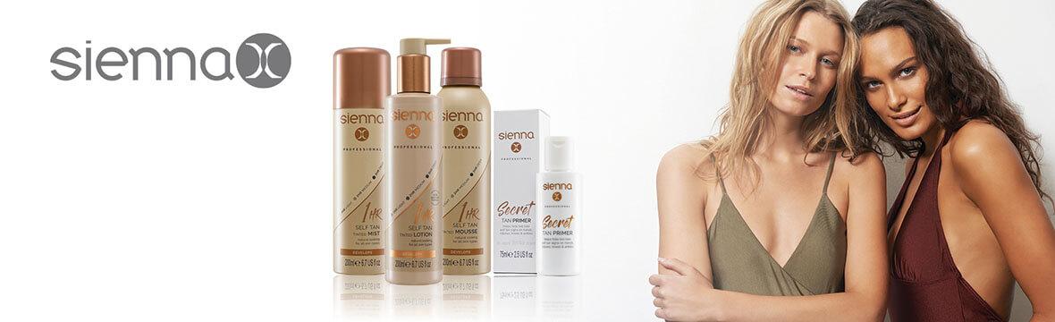 sienna x banner, spray tan, beauty salon, didcot
