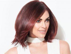 red hair colour, segais hair salons, didcot and wantage