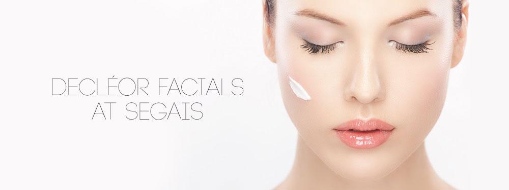Decléor Facials at Segais Beauty Salons in Wantage and Didcot