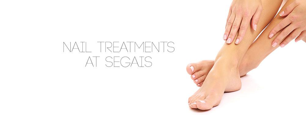 Nail Treatments at Segais beauty salons Wantage and Didcot