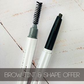 Eyebrow Tint and Shape Offer