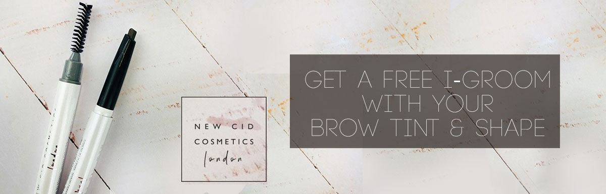 Get a FREE i groom with your Brow Tint Shape at Segais Beauty Salons Didcot Wantage