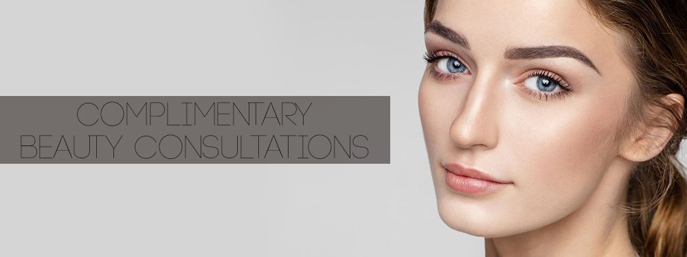 Complimentary Beauty Consultations banner