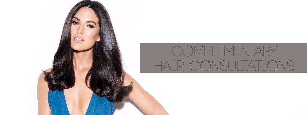 Complimentary Hair Consultations banner