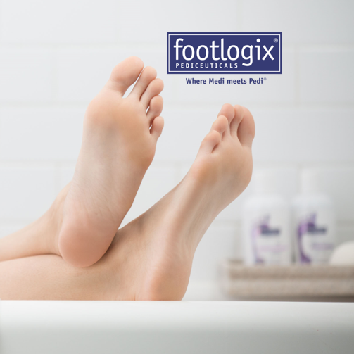 Footlogix available at Segais Oxfordshire beauty salons