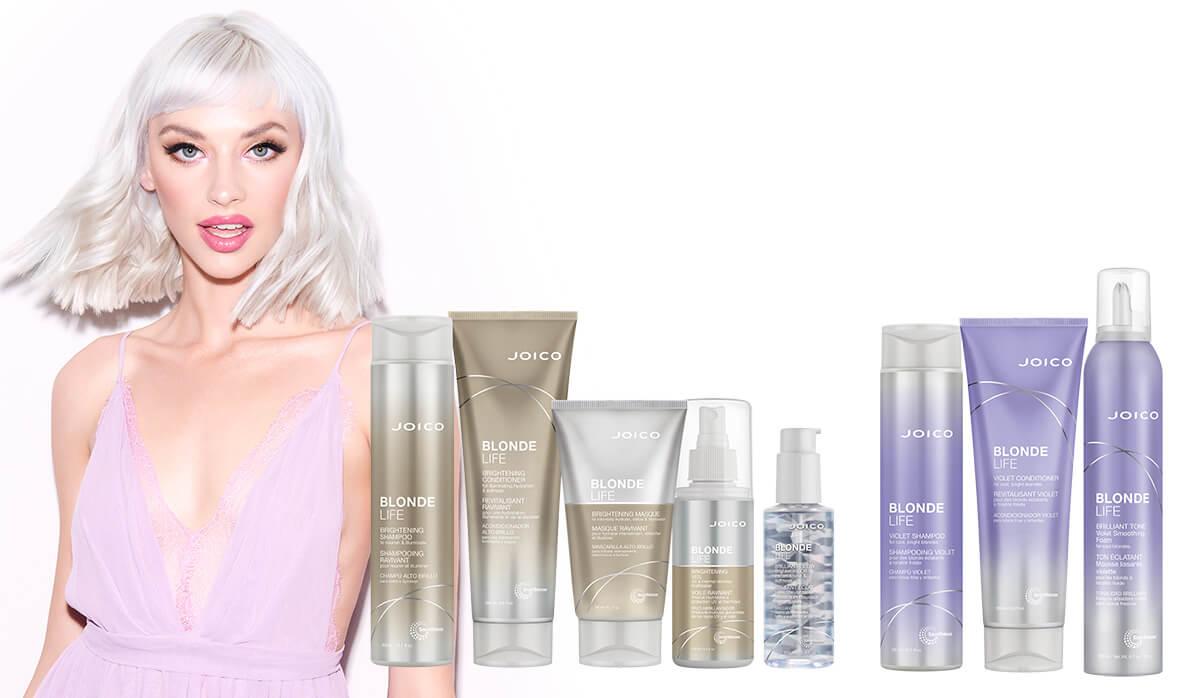 Joico Blonde Life Purple Shampoo Wantage Hairdressers Didcot hair salon