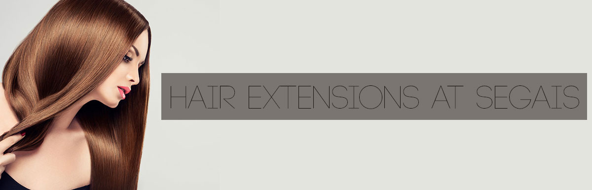 Hair Extensions at Segais Wantage & Didcot Hairdressers