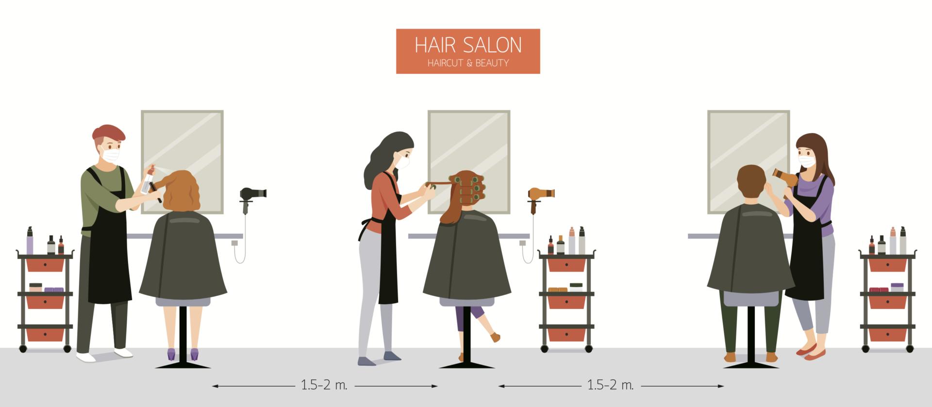 Covid Secure Procedures Segais Didcot Wantage Hair Salons