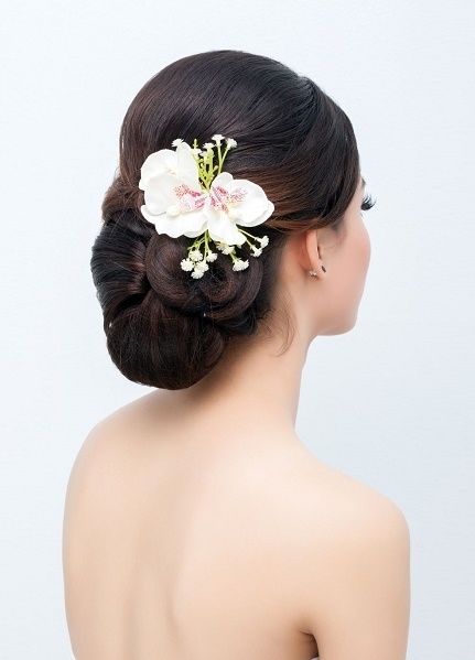 Wedding hair upstyle - Copy