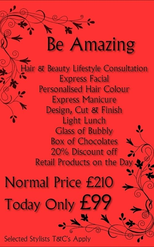 Black Friday Be Amazing offer