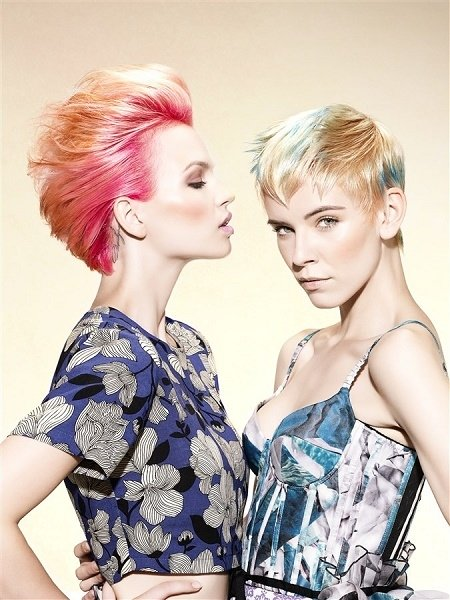 blondes with touch of colour sens.us